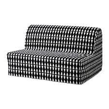 black white furniture. LYCKSELE LÖVÅS Sleeper Sofa Black White Furniture D