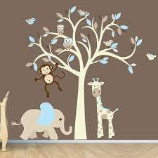 monkey wall decals for nursery canada color the walls of