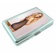 details about fiji pin up s d11 silver metal cigarette case rfid protection wallet