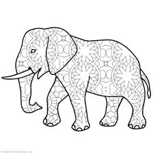 Printable Elephant Coloring Pages Cute Elephant Coloring Pages