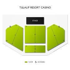 Tulalip Resort Casino 2019 Seating Chart