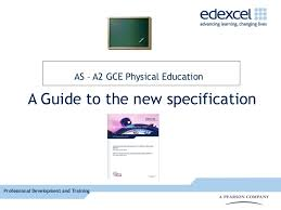 Approval for AQA GCSE PE Specification     A Level Physical Education
