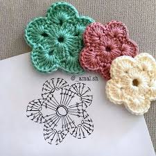 Crochet Flowers Patterns Adorable 48 Free Crochet Flower Patterns Knitting Lovers