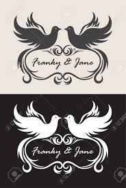 Label Name Wedding Invitation Art Vector Design