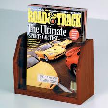 Where To Buy Magazine Holders Interesting Mahogany Single Pocket Wood Magazine Holder With Acrylic Front Buy