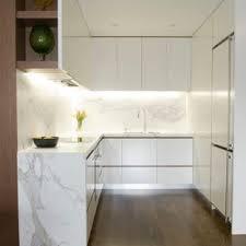 Modern kitchen design white cabinets Set White Small Modern Kitchen Designs Small Minimalist Ushaped Dark Wood Floor Kitchen Photo In Kitchendesignideasorg 75 Most Popular Modern Beige Kitchen Design Ideas For 2019 Stylish