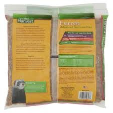 Ferret Food Chart Wild Harvest Advanced Nutrition Ferret 3 Pounds High