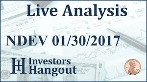 Ndev Stock Live Analysis 01 30 2017