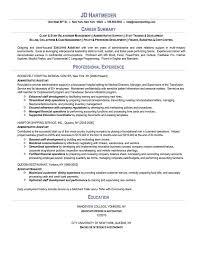 Sample administrative assistant resume Writing Resume Sample