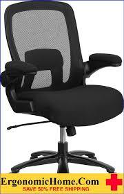ergonomic home tough enough series 500 lb capacity big tall black mesh executive swivel