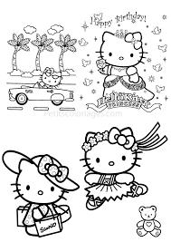 19 Dessins De Coloriage Hello Kitty Princesse Imprimer