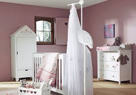 Decoration Room For Baby Girl Bedroom Pink Brown Baby Girl Room Idea With Pink Wall And Brown