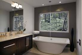 freestanding tub in small bathroom. freestanding-bathtub-5 freestanding tub in small bathroom e