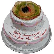 Buy 50th Wedding Anniversary Cakes At Best Price Faridabadcake