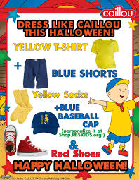 looking to dress like caillou this check out this easy diy costume guide