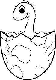 Coloriage Dinosaure Oeuf Imprimer Sur Coloriages Info