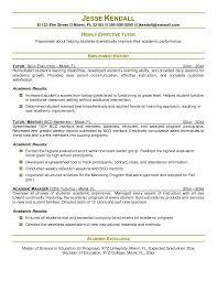 Tutor Resume Sample Adorable Tutor Resume Template Tier Brianhenry Co Resume Format Ideas Tutor