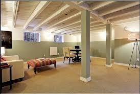 Ideas of Painted Basement Ceiling Jeffsbakery Basement Mattress