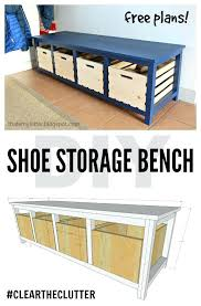 how to build a shoe storage bench shoe storage bench free plans diy bench seat with