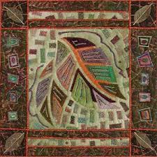 Vickie Hallmark | Quilt Archives & Vickie Hallmark | Leaf Mosaic 1, machine quilted miniature art quilt ... Adamdwight.com