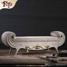 high end bedroom furniture. versailles bed end bench french classic furniture,european antique bedroom furniture luxury solid wood chaise lounge high