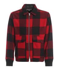 Archive Tartan Pattern Wool Blend Jacket