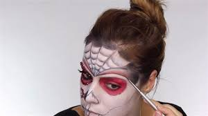 refine outline easy day of the dead makeup tutorial perfect for