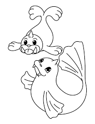 Pokemon Paradijs Kleurplaat Seel En Dewgong