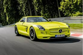 New Nurburgring Lap Record For Electric Car Set By Sls Amg