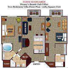 30 disney 2 bedroom villas liveable 2 bedroom villas disney world review disney s beach club