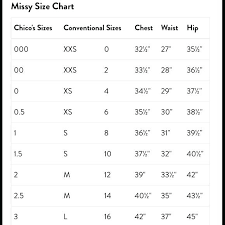 Chicos Jeans Size Chart Chicos Size Chart S 1 Coreyconner