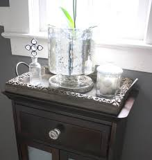 mercury glass bathroom accessories. Mercury Glass Hurricane/plant Pot From West Elm With The Other New Bathroom Accessories E