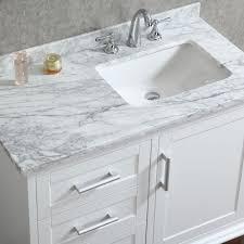 bathroom single sink vanities. ace 42 inch single sink white bathroom vanity set with mirror vanities