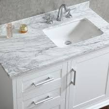 white bathroom vanities. Unique Bathroom Ace 42 Inch Single Sink White Bathroom Vanity With Mirror Vanities
