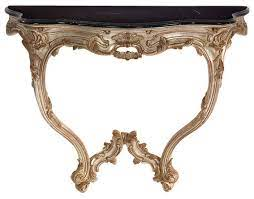 venetian style console table