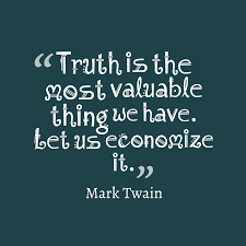Mark Twain Quote About Truth
