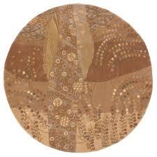 rustic cabin lodge area rugs fresh chandra bay tan beige 7 ft 9 in indoor round
