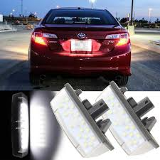 Toyota Camry License Plate Light Replacement Amazon Com Xotic Tech 2x White Error Free Oem Replacement