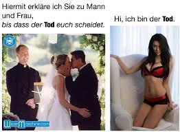Bis Dass Der Tod Euch Scheidet Ehe Witze Funny Marriage Bilder