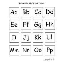 Free Alphabet Flash Cards Free Printable Alphabet Flash Cards Black And White