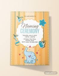 28 Elegant Invitation Card Format Naming Ceremony Photos