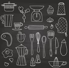 料理キッチンに関連する手書きのクリップアート集 All Free Clipart