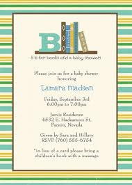 Book Baby Shower Invitations  MarialonghiComLibrary Themed Baby Shower Invitations