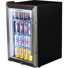 glass door mini fridge outdoor triple glazed alfresco bar with lock