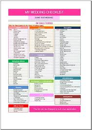wedding checklist templates wedding checklist template 25 cute wedding checklist template