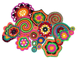 this post is a call out for prudence mapstone who is inviting creative crocheters knitter to join her in creating a unique piece of wall art for an  on wall art flower power with 50 years of flower power a freeform crochet knit artwork call