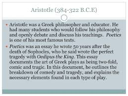 aristotle s poetics tragedy ppt video online 2 aristotle