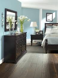 wall colors with black furniture wood flooring ideas and trends for your stunning bedroom interior design