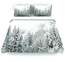 contemporary super king duvet covers tree cover robin winter wonderland white gray in ide modern duvet covers