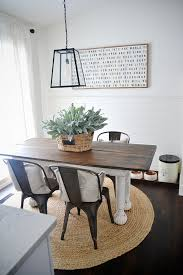 wood dining table with metal chairs jonathan steele